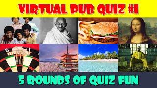 Virtual Pub Quiz (Part 1)