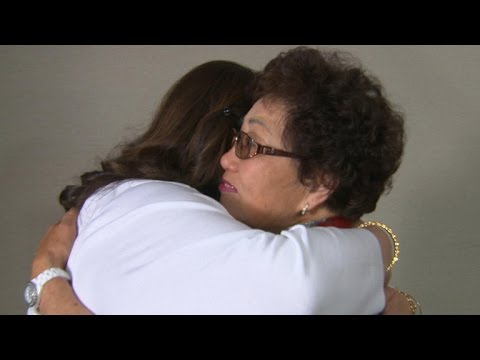 CBS News Captures Touching First Reunion Between Daughter And Her Biological Mother