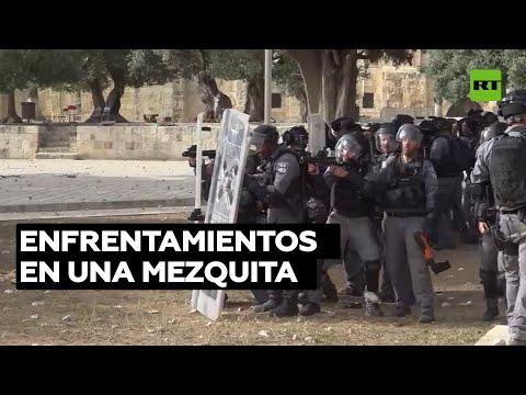 La Policía israelí choca con palestinos en la mezquita de Al Aqsa