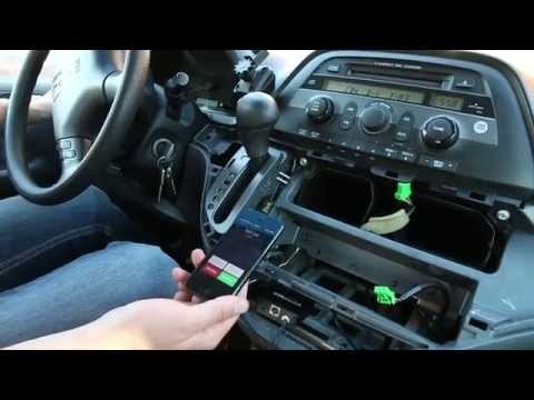 honda odyssey stereo and cd removal 2005 2010 funnycat tv. Black Bedroom Furniture Sets. Home Design Ideas
