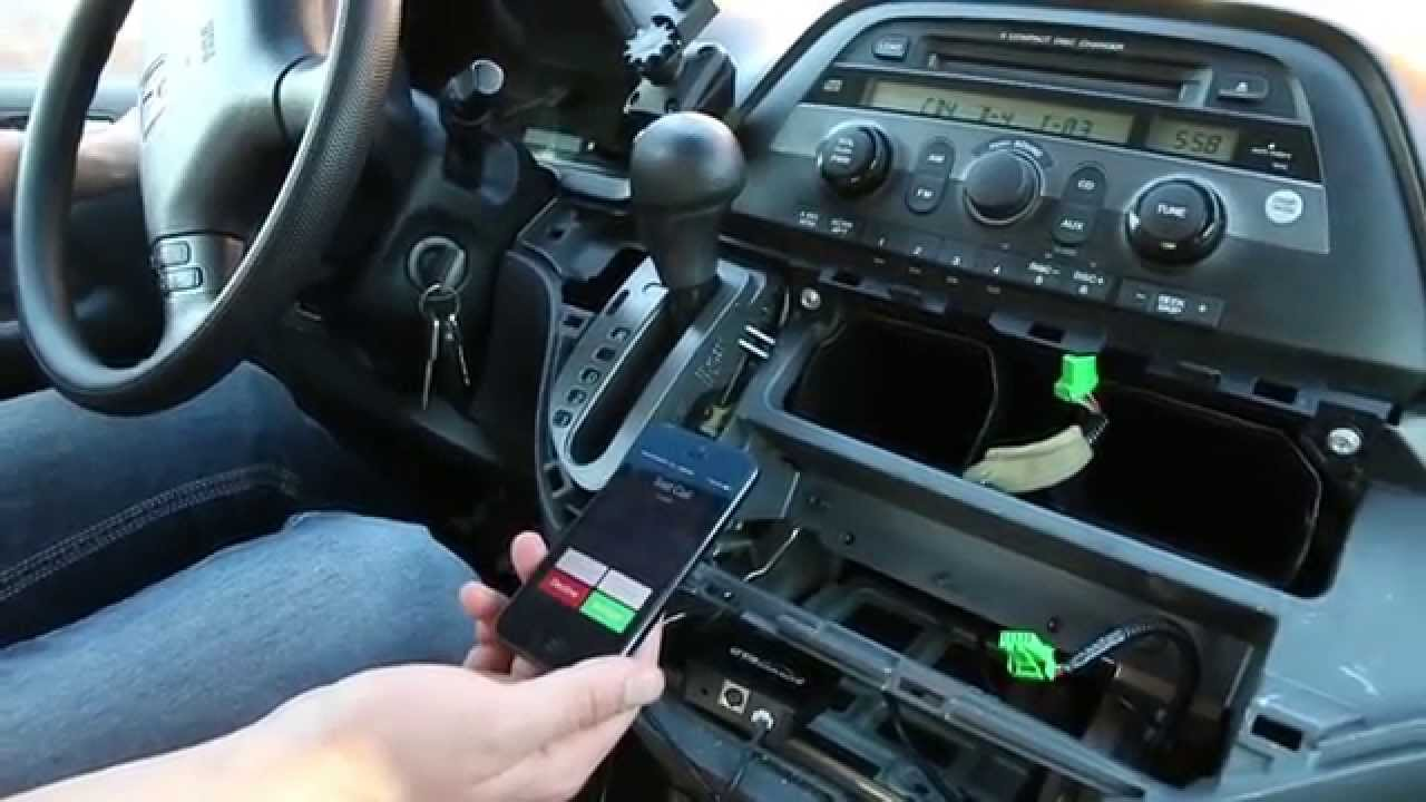 Honda Odyssey 2005-2010 Bluetooth Extension installation by GTA Car Kits - YouTube