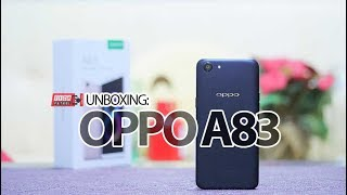 Unboxing OPPO A83 Philippines