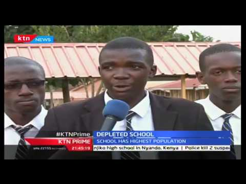 St Joseph School, Kitale in bad state due to increased population after upgrading to national school