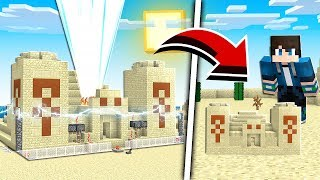 How to Build a SHRINKING MACHINE in Minecraft Tutorial! (Pocket Edition, Xbox, PC)