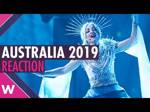 "Kate Miller-Heidke ""Zero Gravity"" REACTION | Eurovision: Australia Decides 2019 RESULTS Mp3"