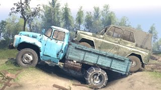 SPINTIRES - Loading and Transporting the A 469 Jeep