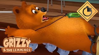 🐻15 minutes of Grizzy & the Lemmings // Compilation #5 - Grizzy & the Lemmings Thumb