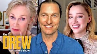 Jane Lynch Phoebe Dynevor Matthew McConaughey and More Reveal a Time They Fangirled Starstruck