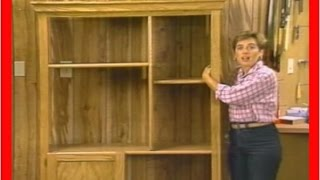 How To Make A Bookshelf - Build Your Own Bookshelf Out Of Wood [1 Of 3]