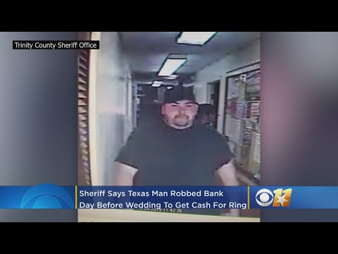 Mychal Maguire - Texas Man Robs Bank Day Before Wedding To Pay For Ring & Venue