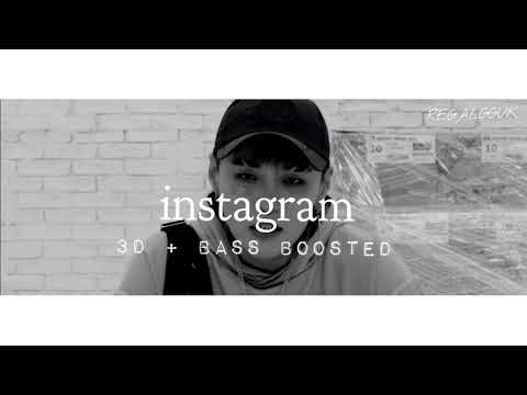 [ 3D + BASS BOOSTED ] DEAN [ 딘 ] - instagram [ 인스타그램 ]
