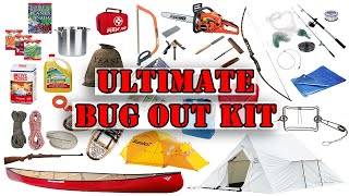 The Ultimate Bug-Out Kit for Long Term Wilderness Living