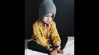 Шапка Эльфа/Шапка Гнома/Pixie Hat/Детская шапка спицами/Простая шапка спицами