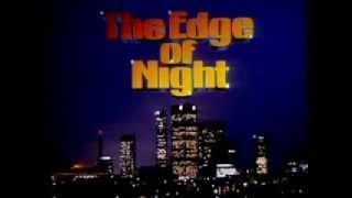 The Edge of Night Opening   Closing credits   80s full no VO