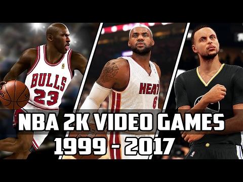 History of NBA 2K Video Games - (1999-2017)