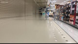 Spokane grocery stores short on toilet paper, hand sanitizer amid coronavirus concern