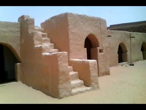 La mosquée de chinguetti crée en 1264