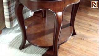 Oval End Table-wood Top-kd Cherry Grove The New Generation 091-916 By American Drew