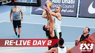LIVE - Day 2 - Abu Dhabi Final - 2016 FIBA 3x3 World Tour