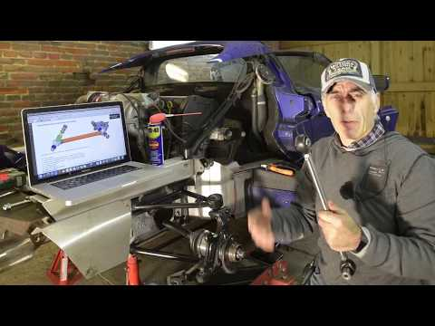 Lotus Elise  – Replacing the rear TOE Control Link – with the Motorsport Kit