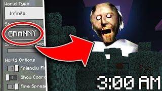 Do NOT Use the GRANNY Seed in Minecraft Pocket Edition at 3:00 AM...