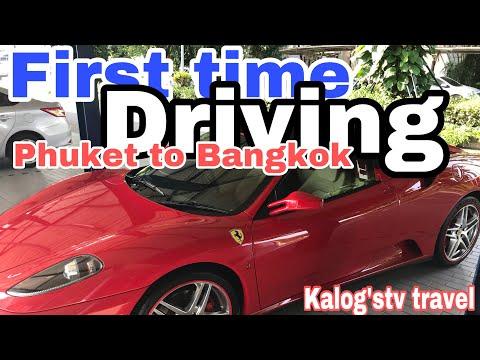 Phuket to Bangkok first driving