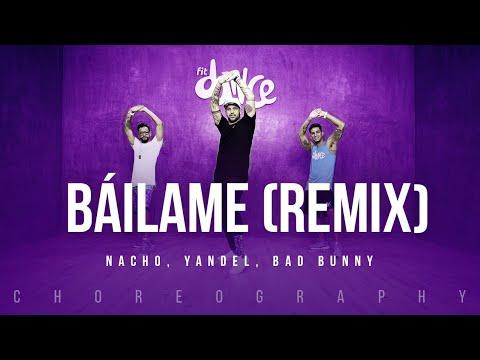 Báilame (Remix) - Nacho, Yandel, Bad Bunny | FitDance Life (Coreografía) Dance Video