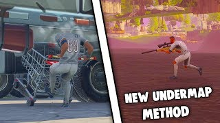 Fortnite Glitches Season 4 - *New* Under The Map Wallbreach Method - New Fortnite Glitch