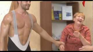 Repeat youtube video Naked and Funny. Production gymnastics for women