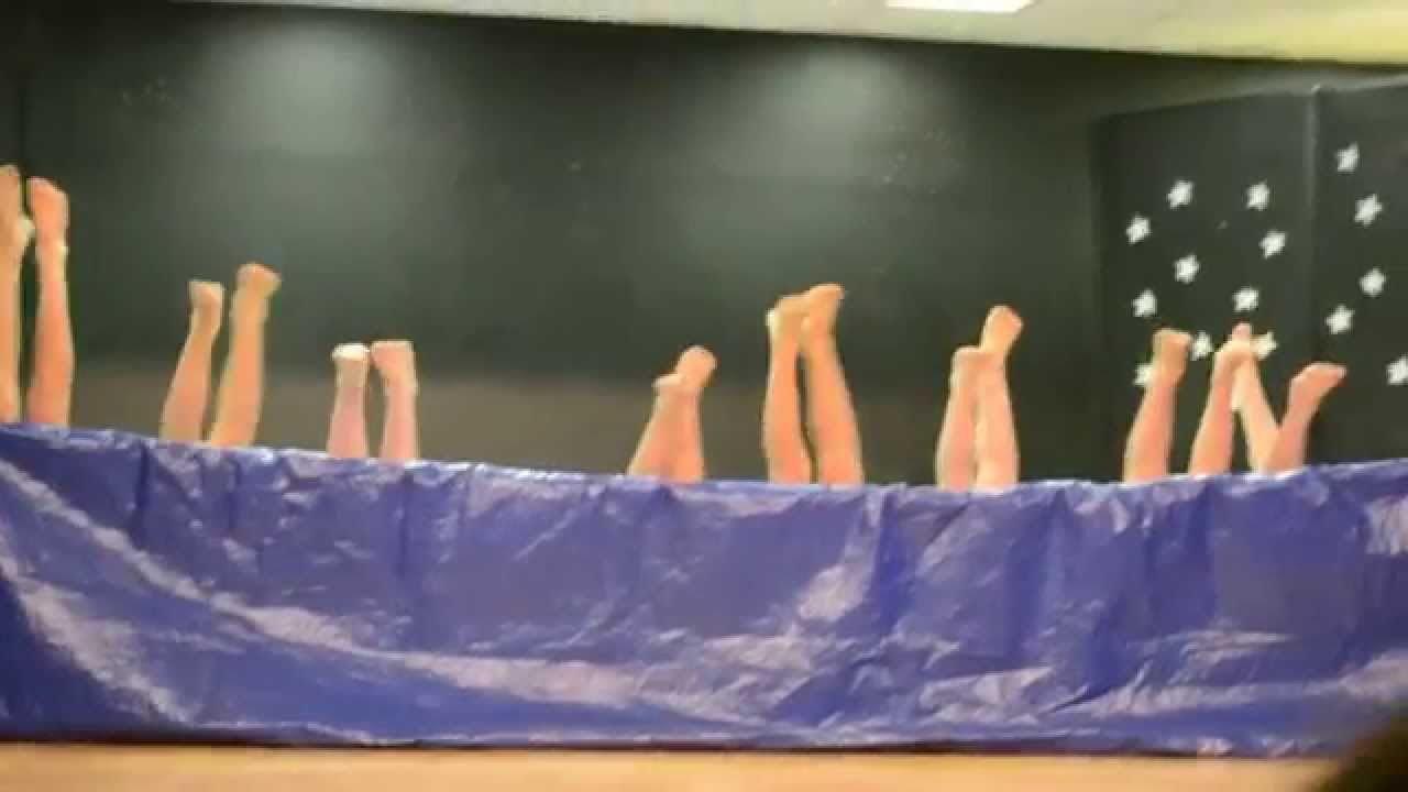 5th grade boys Synchronized Air Swimming Talent Show Skit ...