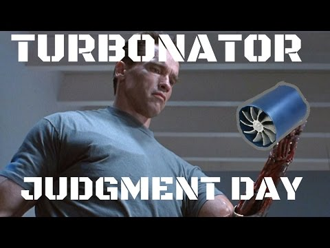 TURBONATOR F1-Z JUDGMENT DAY test Ebay turbo fan review Terminator parody.