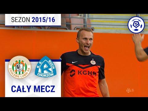 Zagłębie Lubin - Ruch Chorzów [2. połowa] sezon 2015/16 kolejka 07