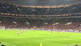 Стадион Лужники. Россия-Аргентина