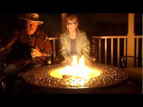 Gazebo Firepit Youtube