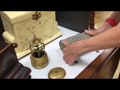 Vintage and Antique Music Box Collection