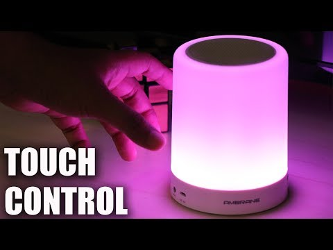 [Hindi] Ambrane Portable Lamp Bluetooth Speaker BT-6000 UNBOXING & REVIEW