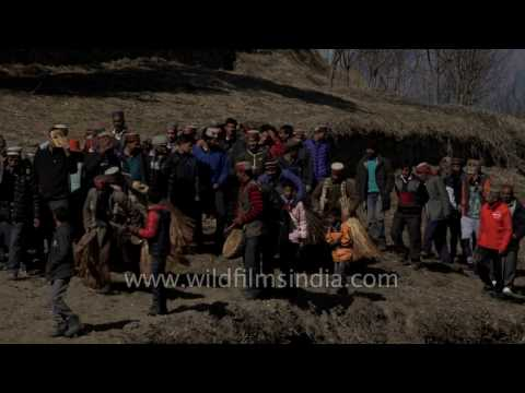 Procession of Faguli Mela reaches Latoda temple in Himachal