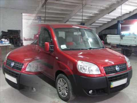 Fiat Doblo полный перекрас