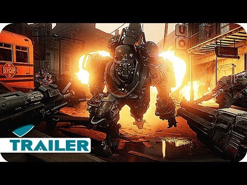 WOLFENSTEIN 2: THE NEW COLOSSUS Trailer (2017) E3 2017