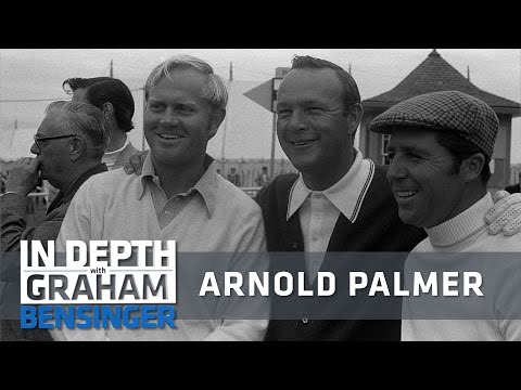 """Nicklaus and Player: Why Arnold Palmer was """"The King"""""""