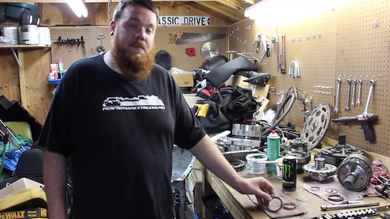 Rollerizing Rear Case 4L80E