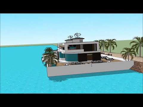 Dream HOUSEBOAT PROVIDENCE BOAT SHOW 2018 BOSTON WASHINGTON DC  Houseboat Design 2018  Superyachts A