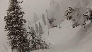 Shonduras Shreds a Snowboard - 2012