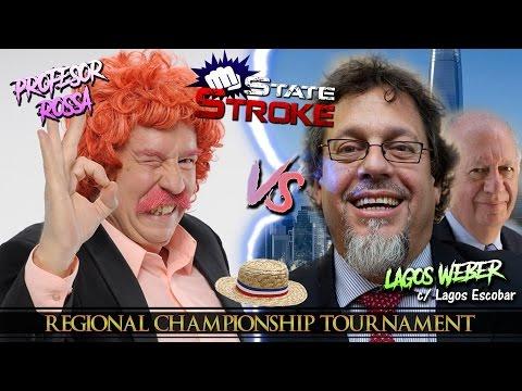 [State Stroke 02] Profesor Rossa vs Ricardo Lagos Weber - Regional Championship Tournament