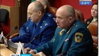 Шеверда волнуется  С министра лесного комплекса Иркутской области спросили за рубки