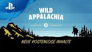 Fallout 76 - Wild Appalachia Launch Trailer deutsch [PS4]