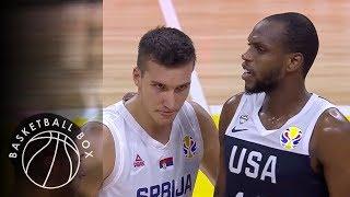 世界盃籃賽  美國隊vs塞爾維亞 精彩片段