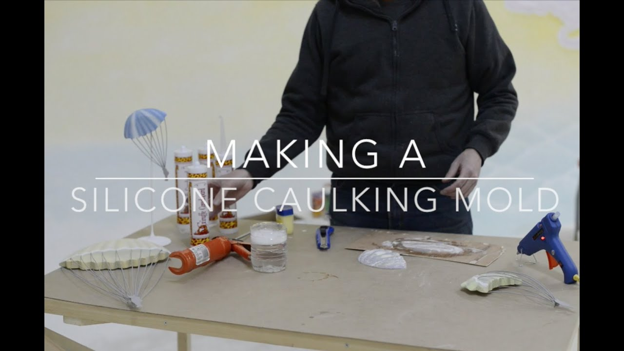 Make A Casting Mold From Silicone Caulk Part 1