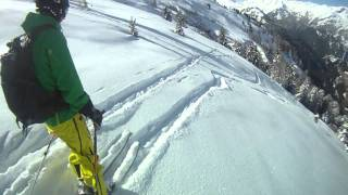 Powder Skiing in St Anton (HD)