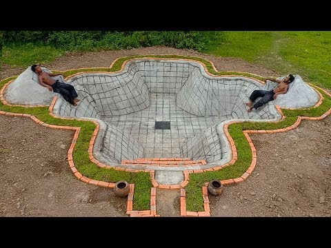Build Underground Swimming Pool ( Part 1)